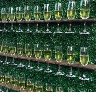 Champagne Wall Hire   Prosecco Wall Hire   Plum Crazy Agency